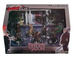 HorrorClix: Freddy vs. Jason Collectors Set