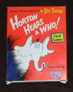 Horton Hears A Who! Card Game