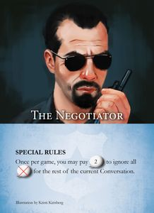 Hostage Negotiator: Negotiator Cards – Series 1