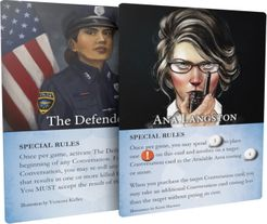 Hostage Negotiator: The Defender and Ana Langston Promo Cards