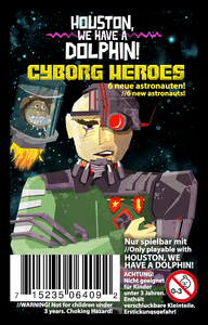 Houston, We Have a Dolphin!: Cyborg Heroes