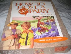 How to Host a Kids Party: Safari Adventure Party