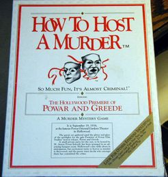 How to Host a Murder: The Hollywood Premiere of Powar and Greede