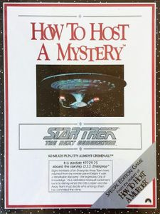 How to Host a Mystery: Star Trek – The Next Generation