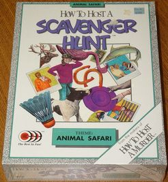 How To Host a Scavenger Hunt: Animal Safari