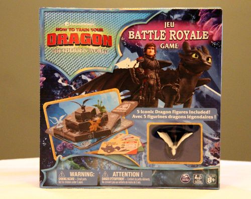 How to train your dragon: The Hidden World – Battle Royale Game