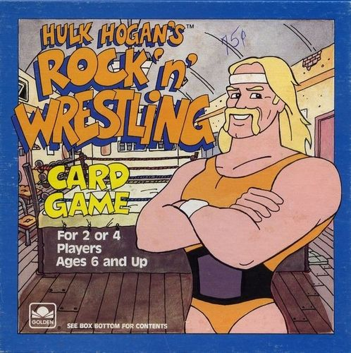 Hulk Hogan's Rock 'n' Wrestling Card Game