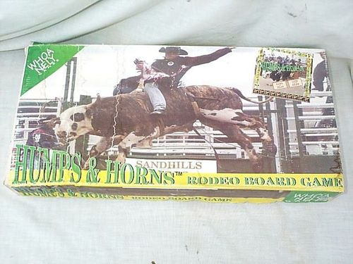 Humps & Horns Rodeo Board Game