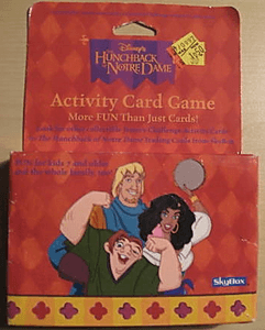 Hunchback of Notre Dame Activity Card Game