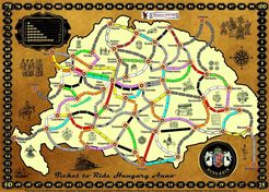 Hungary (fan expansion to Ticket to Ride)