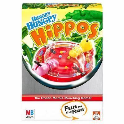Hungry Hungry Hippos Fun on the Run Game