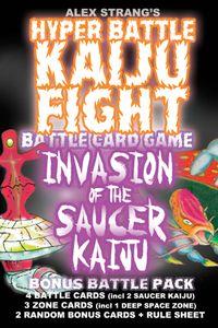 Hyper Battle Kaiju Fight: Invasion Of The Saucer Kaiju Battlepack