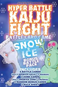 Hyper Battle Kaiju Fight: Snow & Ice Battlepack
