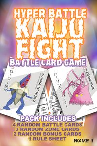 Hyper Battle Kaiju Fight: Wave 1 Battle Pack
