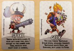 I Hate Zombies: Spyke and Geek