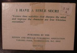 I Have a Bible Secret