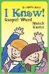 I Know! Gospel Word Match Game
