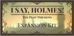 I Say Holmes!: The Plot Thickens