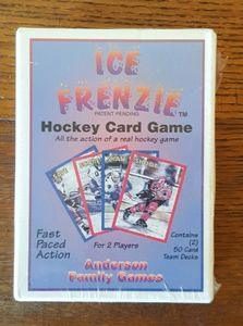 Ice Frenzie Hockey Card Game