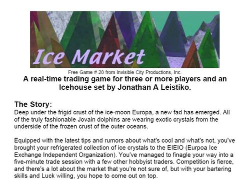 Ice Market