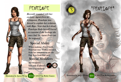 If I'm Going Down...: Penelope Character Card
