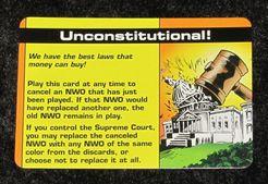 Illuminati: Unconstitutional! Promo Card