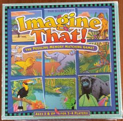 Imagine That! The Puzzling Memory Matching Game! African Safari Edition