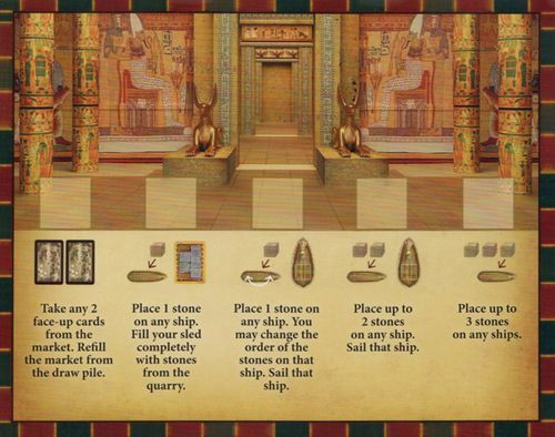 Imhotep: The Pharaoh's Favors – Mini Expansion