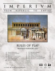 Imperium:  From Republic to Empire