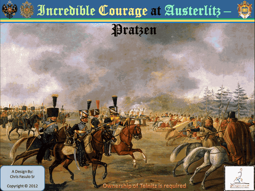 Incredible Courage at Austerlitz: Pratzen