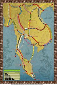 Indochina (fan expansion of Ticket to Ride)