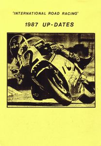International Road Racing 1987 Up-Dates