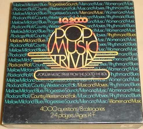 I.Q. 2000 Pop Music Trivia Edition