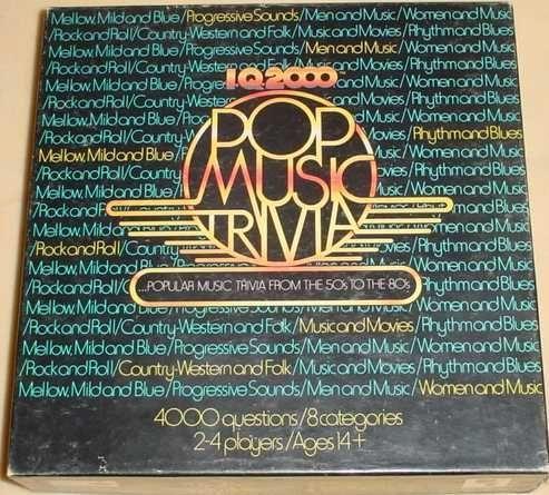 I.Q. 2000 Pop Music Trivia Edition