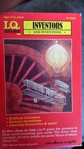 I.Q. Games: Inventors and Inventions