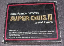 Isaac Asimov presents Super Quiz III