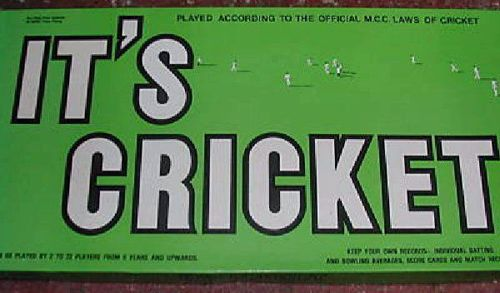 It's Cricket