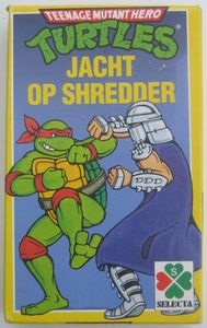 Jacht op Shredder Teenage Mutant Hero Turtles