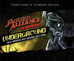 Jagged Alliance: The Board Game – Underground!