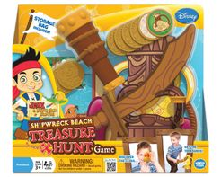Jake and the Never Land Pirates: Shipwreck Beach Treasure Hunt Game