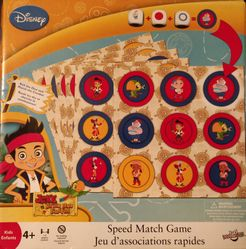 Jake and the Neverland Pirates Speed Match Game