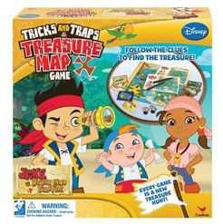 Jake and the Neverland Pirates Tricks and Traps Treasure Map Game