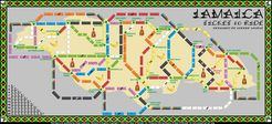 Jamaica (fan expansion of Ticket to Ride)