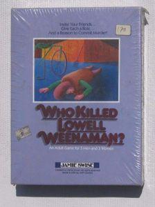 Jamie Swise Mystery Games: Who Killed Lowell Weenaman?