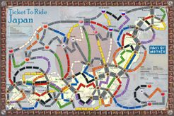 Japan (fan expansion for Ticket To Ride)