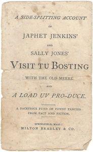 Japhet Jenkins' and Sally Jones' Visit Tu Bosting