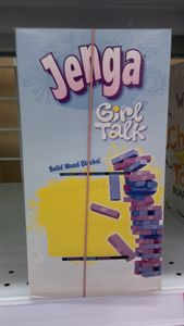 Jenga Girl Talk