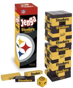 Jenga: Pittsburgh Steelers Collector's Edition