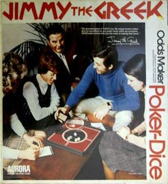 Jimmy the Greek Odds Maker Poker-Dice