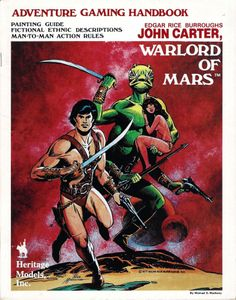 John Carter: Warlord of Mars – Adventure Gaming Handbook